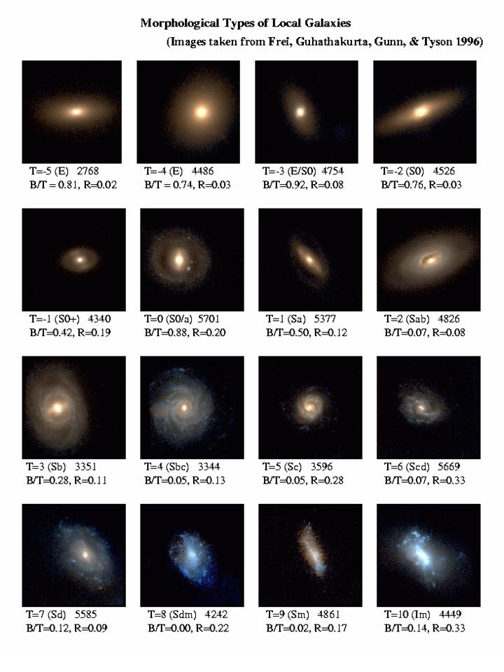 types of two spiral galaxies - photo #27