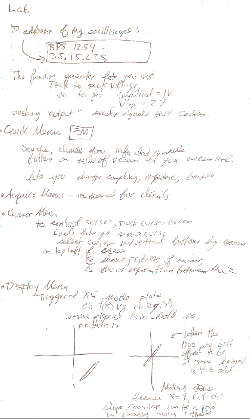 Lab report procedure example