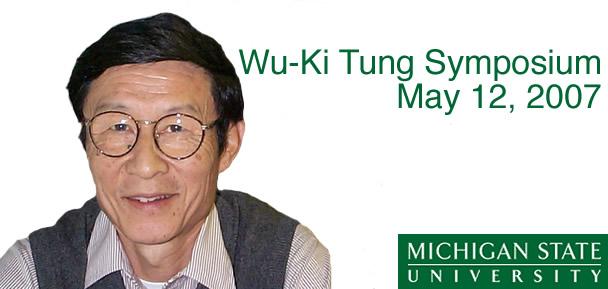 Wu-Ki Tung Symposium photo