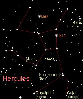 Hercules Constellation Star Names Hercules